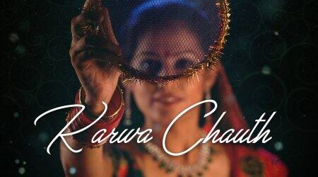 karwa chauth 2020, moon rise time, moon rise time today, indian express news