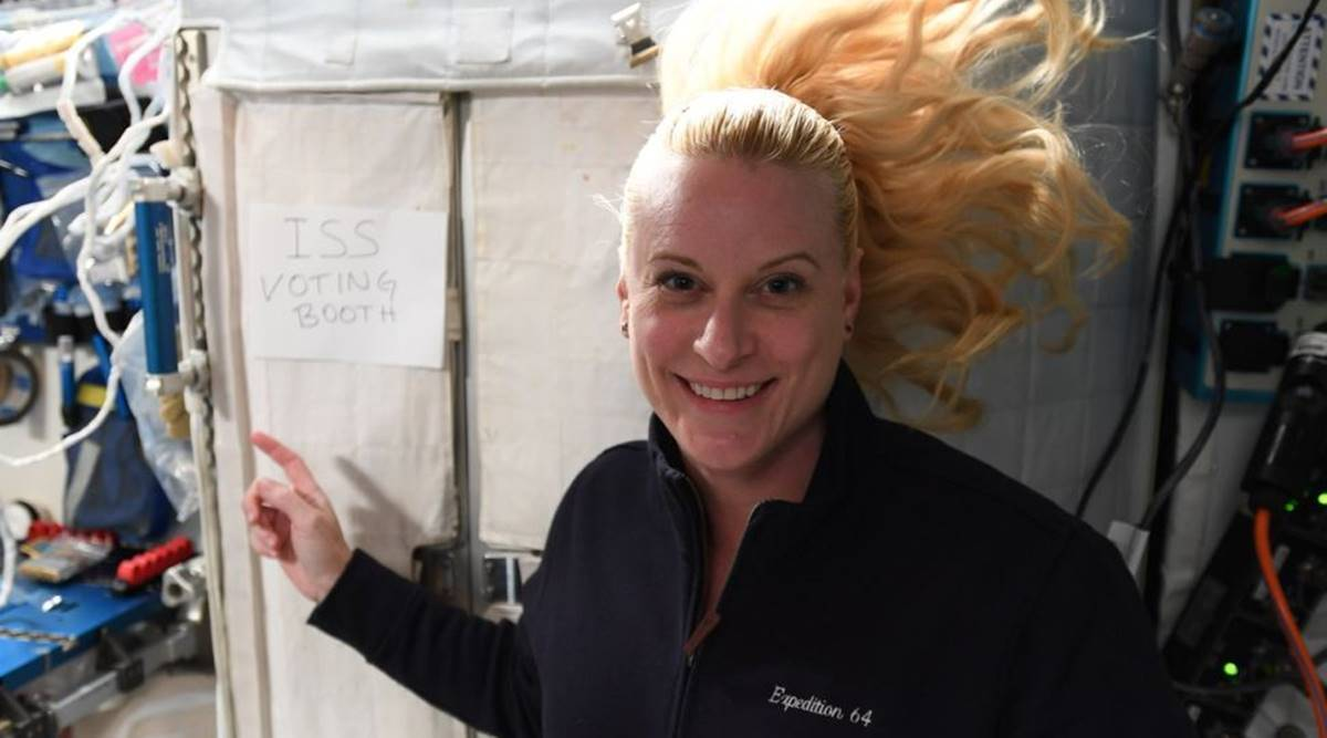 US Elections 2020: Astronaut Kate Rubins on how she voted from International Space Station thumbnail