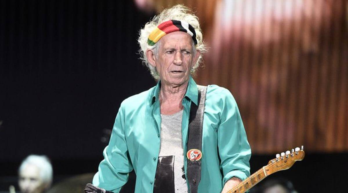 Rock star Keith Richards