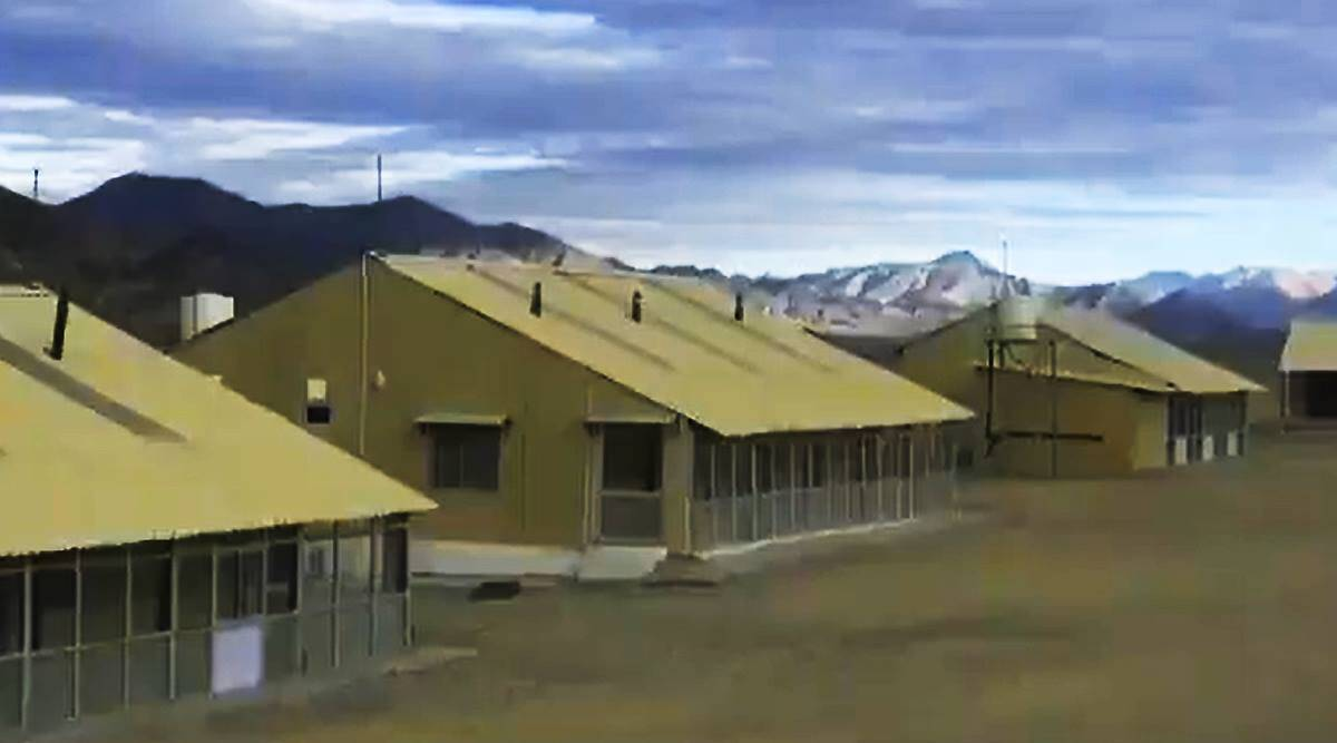 New rooms, tents with heating for troops on LAC as harsh winter sets in - The Indian Express