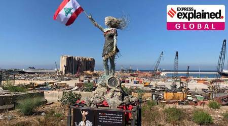 Explained: The artist who turned Beirut explosion debris into a sociopolitical statement