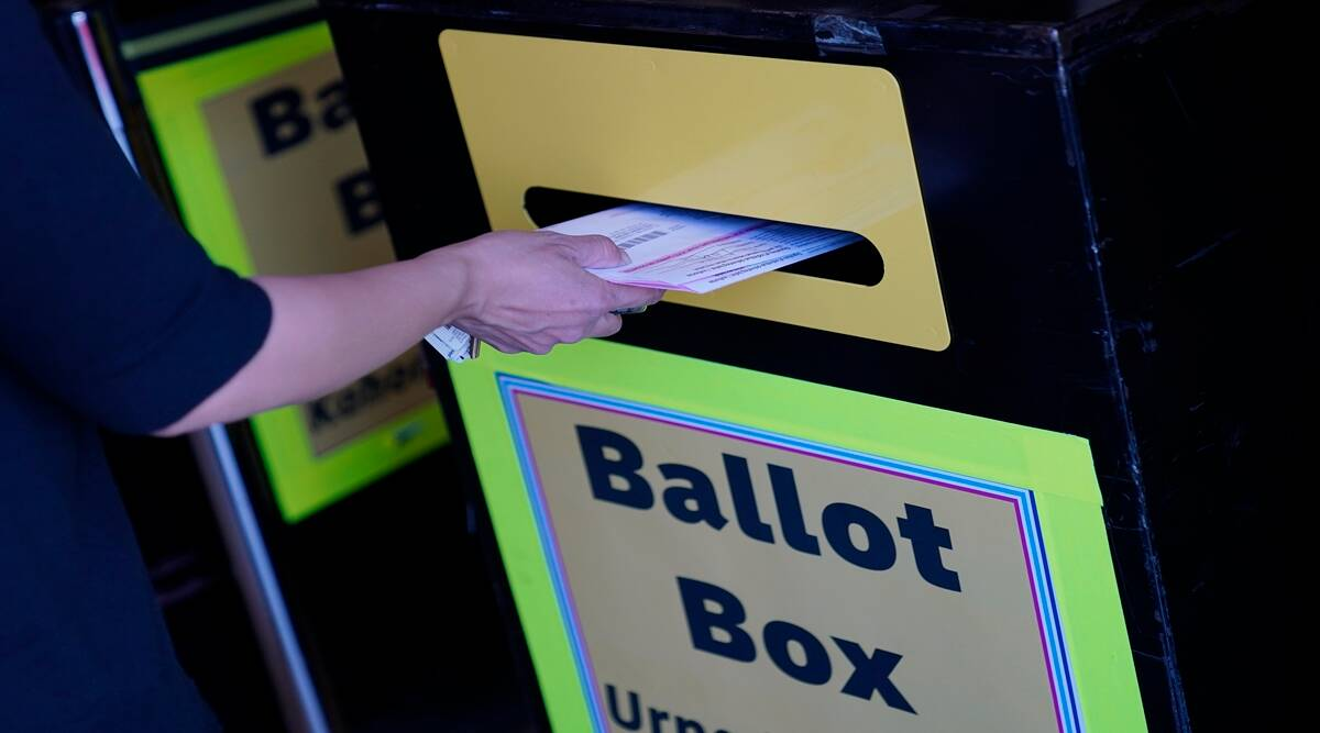 US elections, US presidential elections, postal ballot, mail-in voting