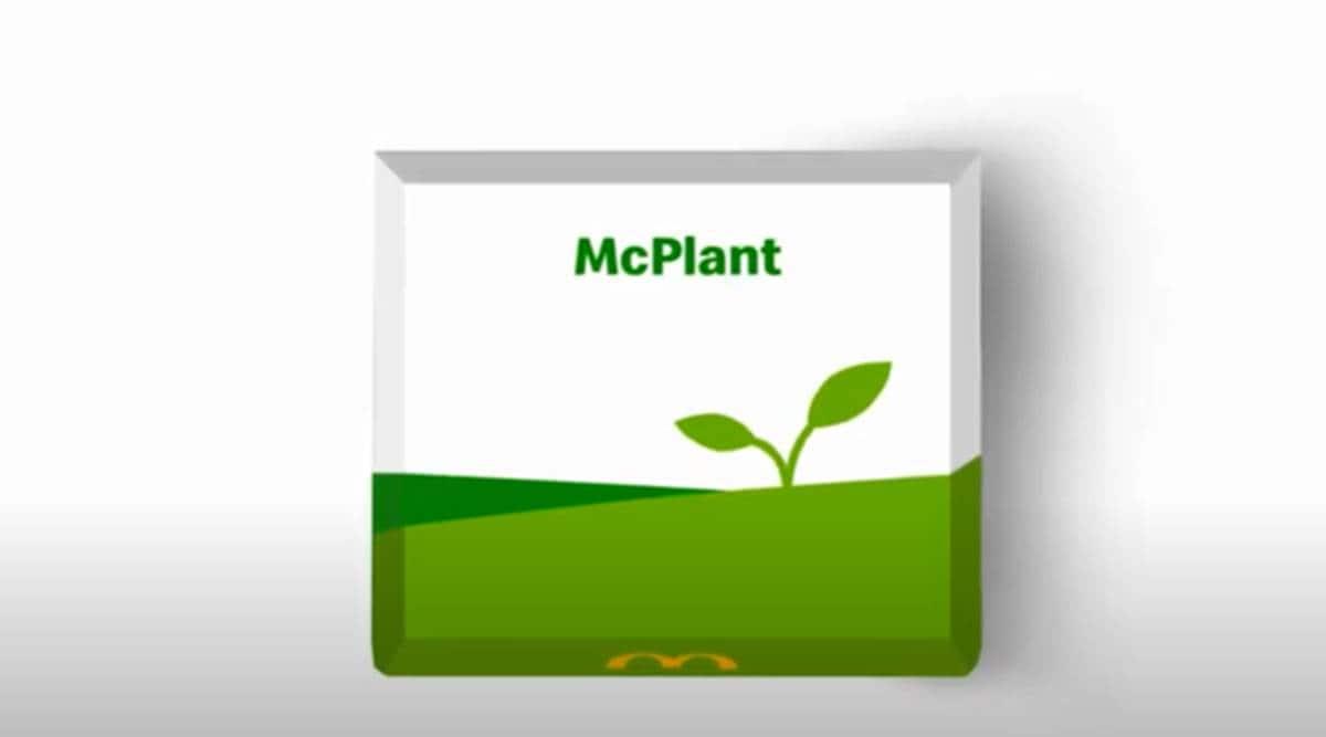 McPlant, McPlant burger, McDonald's new plant based burger, McDonald's menu, McDonald's plant-based food, indian express news