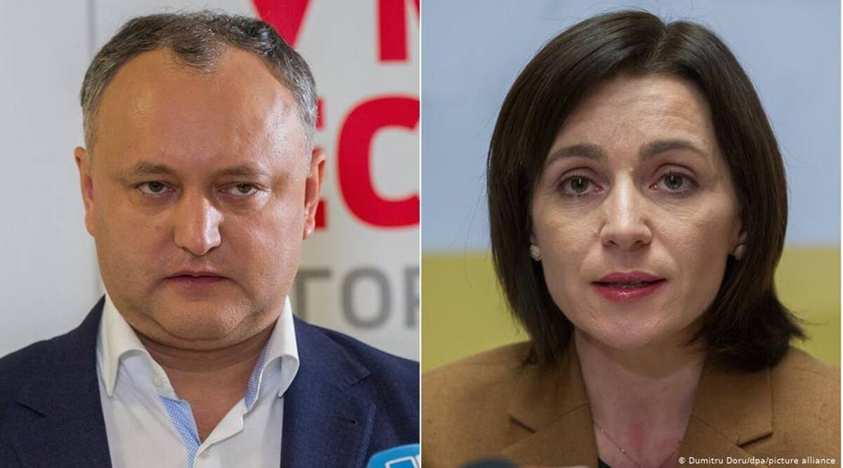 Igor Dodon, Maia Sandu, Moldova, Moldova election
