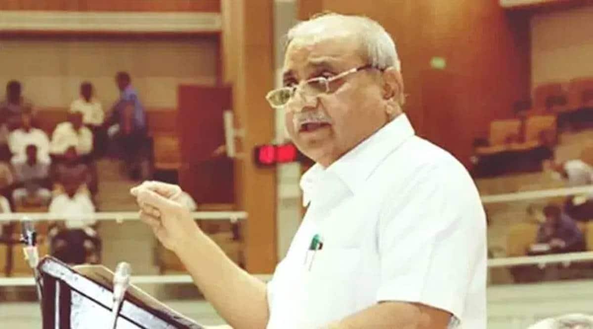 Nitin Patel, Gujarat assembly, Gujarat budget, gujarat annual budget, gujarat home department, indian express news