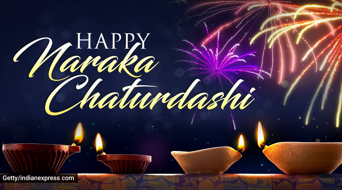 Happy Naraka Chaturdashi Wishes Images