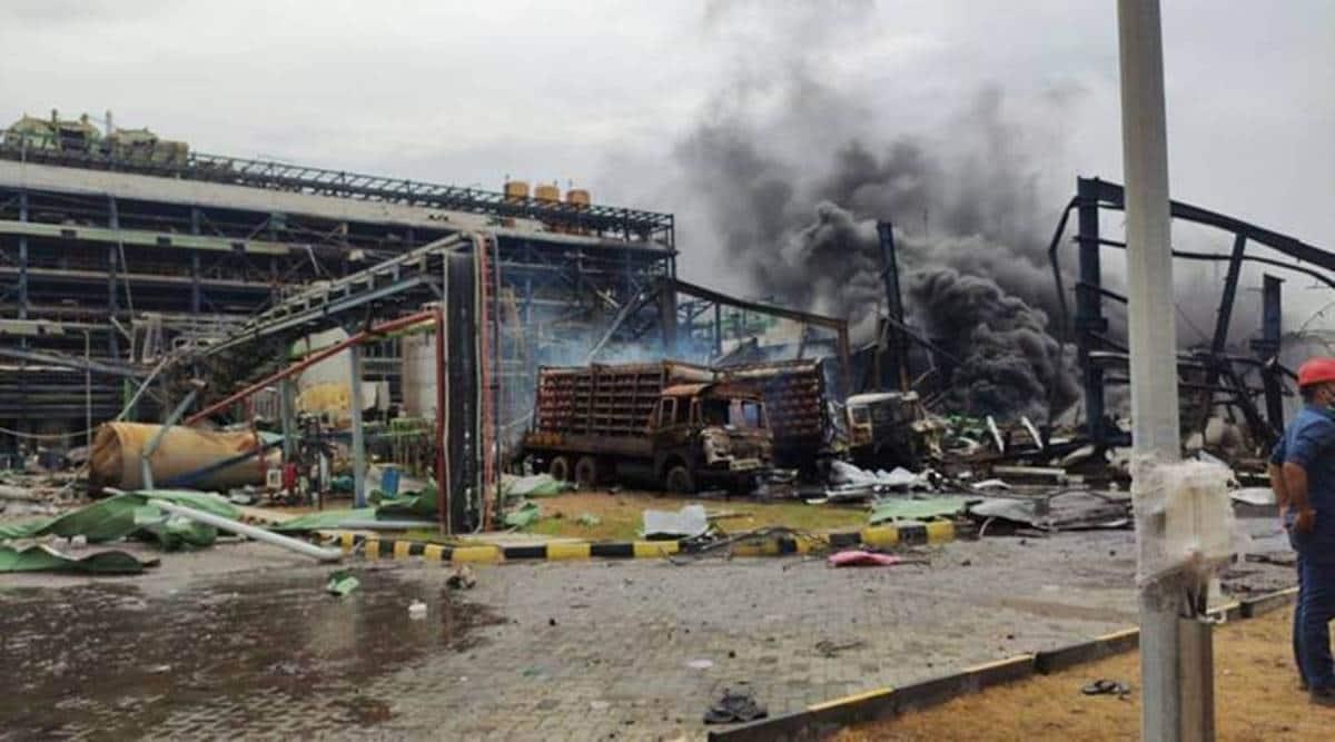Dahej industrial fire, Vizag chemical plant fire, National Green Tribunal, Gujarat government, AHmedabad news, Gujarat news, Indian express news