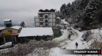 Snow, wet spell cuts off higher reaches of Himachal Pradesh