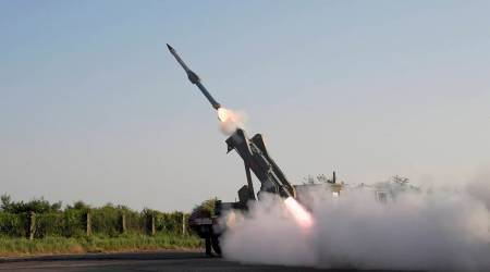 india missiles, Quick Reaction Surface-to-Air Missile (QRSAM), test firing missiles,