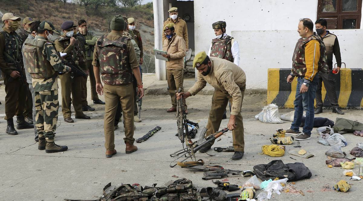 Nagrota encounter:India lodges protest with Pakistan over 'attempted attack' to derail DDC polls; it rejects charge - The Indian Express