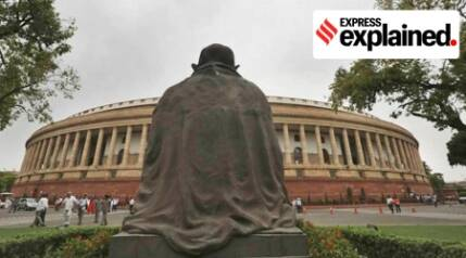 Mahatma's iconic statue, site of protest and veneration