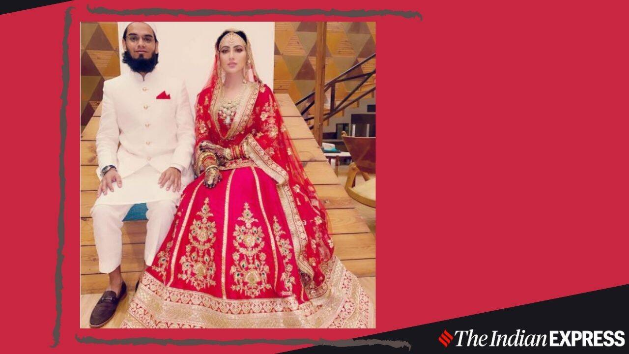 After quitting Bollywood, Sana Khan marries Mufti Anas in low-key ceremony