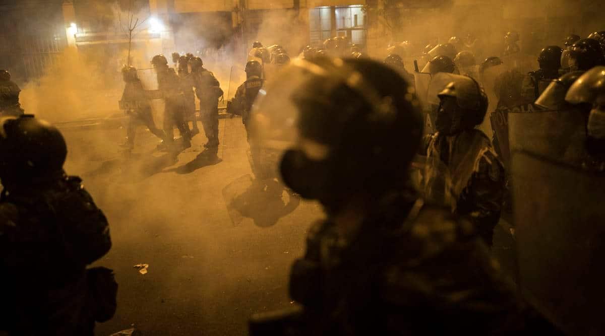 Peru clashes, Peru protests, Peru police clash, peru political crisis, peru news, world news, Indian express