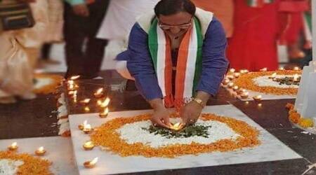 happy diwali, diwali with coronavirus, Minister of education, ramesh pokhriyal nishank, diwali images, modi diwali, education news