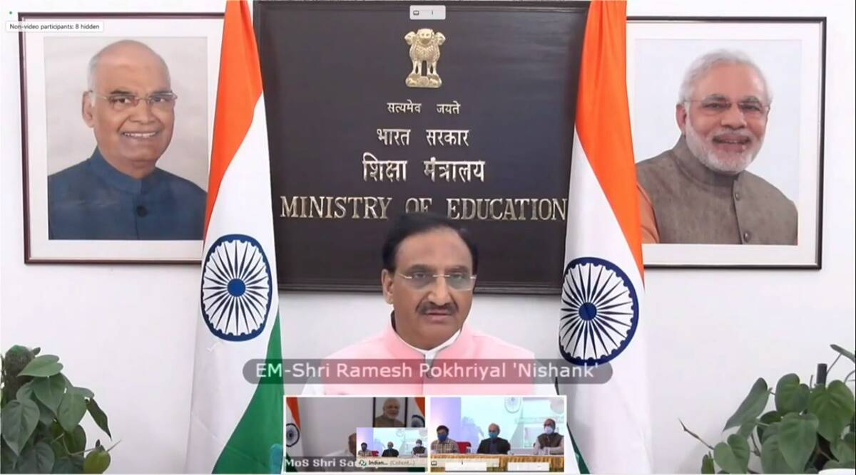 IIT Kharagpur, iit news, knowledge ecosystem, Centre of Excellence for Indian Knowledge System, Indian education vedic eduation, Ramesh Pokhriyal Nishank, education news