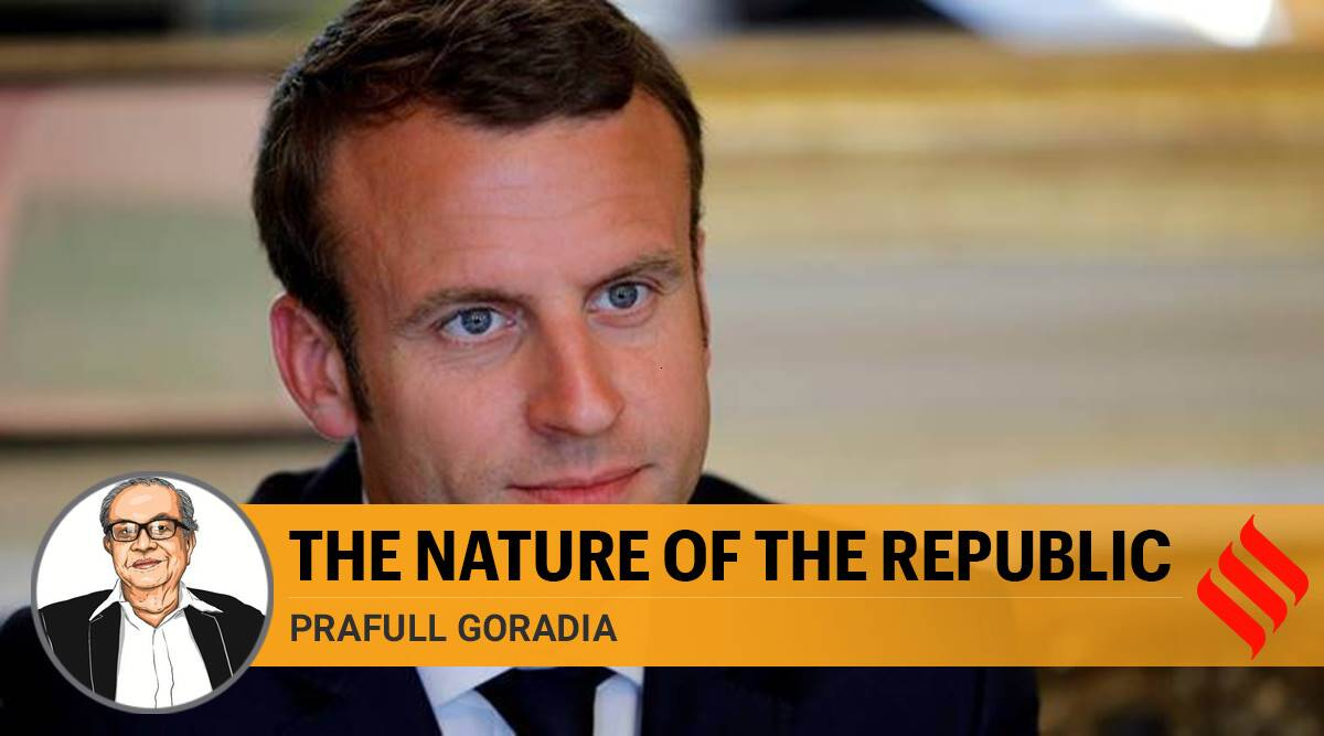 France attacks, France protests, Emannuel macron on muslims, france and islam, emmanuel macron, nice attack, nostradum church attack france, france teacher killing, Macron comments on islam, france terrorist attacks, macron on muslims, indian express news