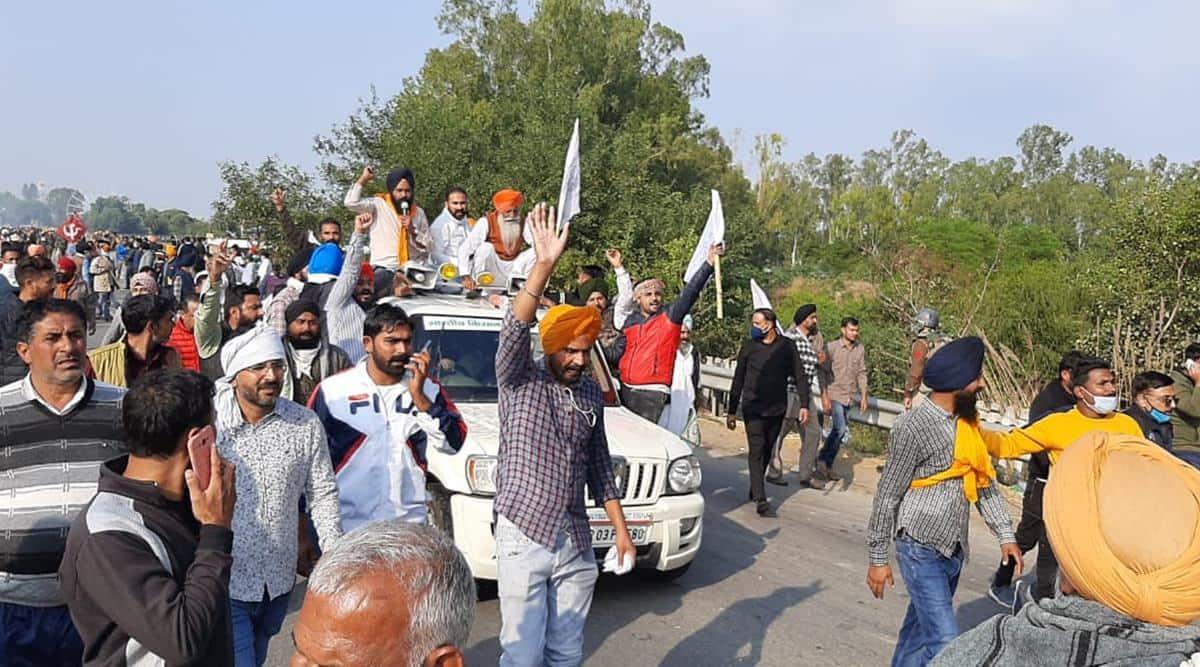 dilli chalo march farmers protest, farmers dilli chalo protest, haryana punjab farmers protest, ml khattar amarinder singh farmers protest, haryana punjab farmers