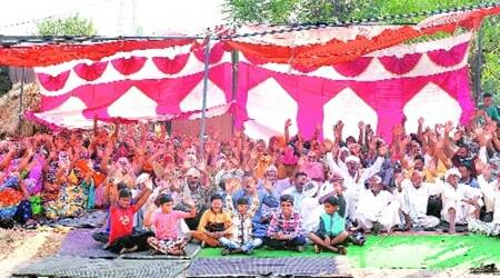 Rattewali village sit-in protest, Rattewali village protest women, Rattewali