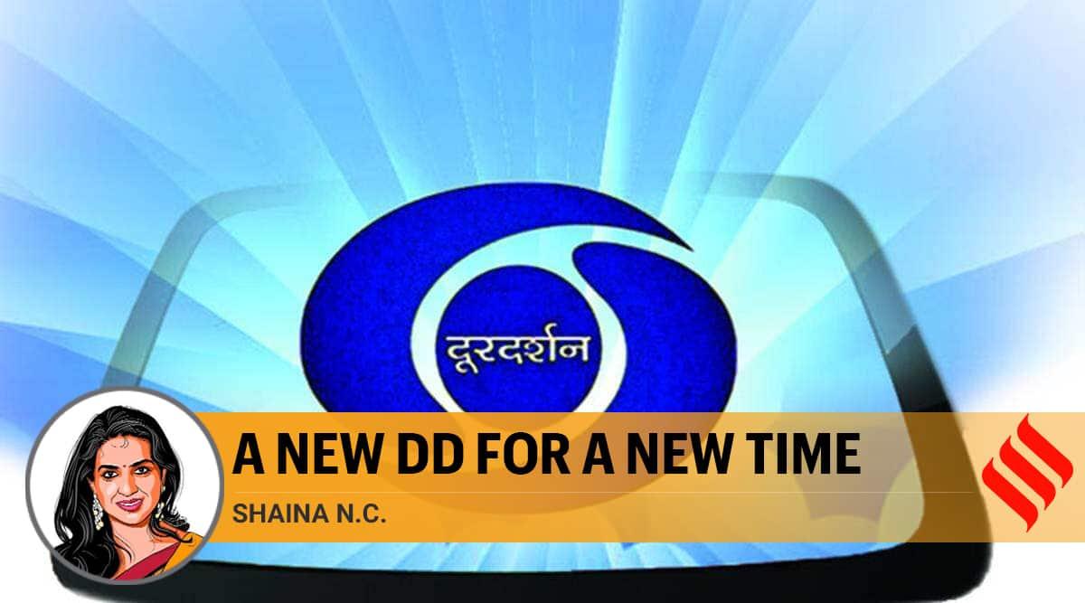 dd news, dd news india, doordarshan, prasar bharti, news channels india, news channels trp ratings, indian express news