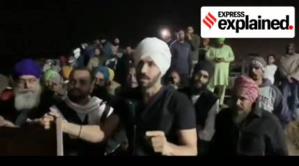Who is Deep Sidhu and why is he getting attention in the farmers' protests