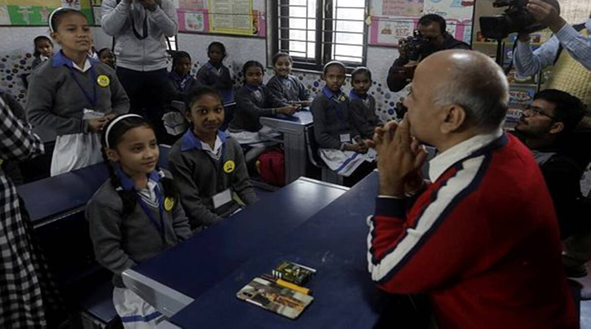 Manish Sisodia, happiness curriculum, happiness classes, education news