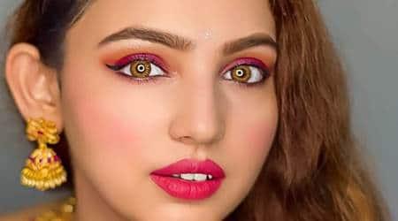 karwa chauth, makeup tips, makeup at home, indian express news