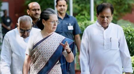 In Ahmed Patel, lost an irreplaceable comrade, a faithful colleague: Sonia Gandhi