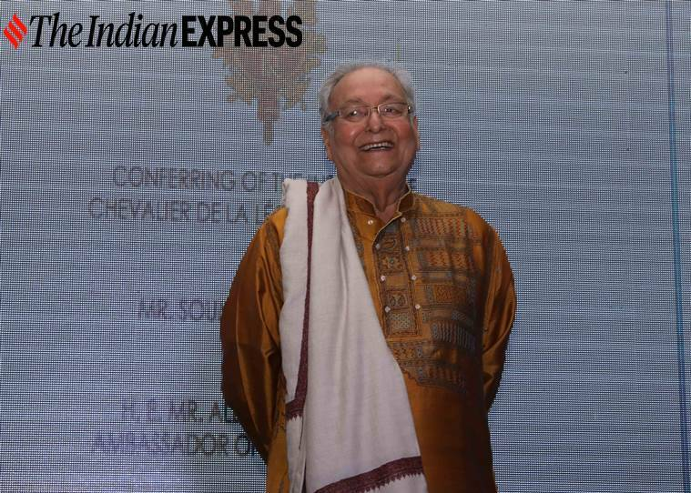 Soumitra Chatterjee, Soumitra Chatterjee death, Soumitra Chatterjee films, lesser known facts about Soumitra Chatterjee, Soumitra Chatterjee and Satyajit Ray, indian express news
