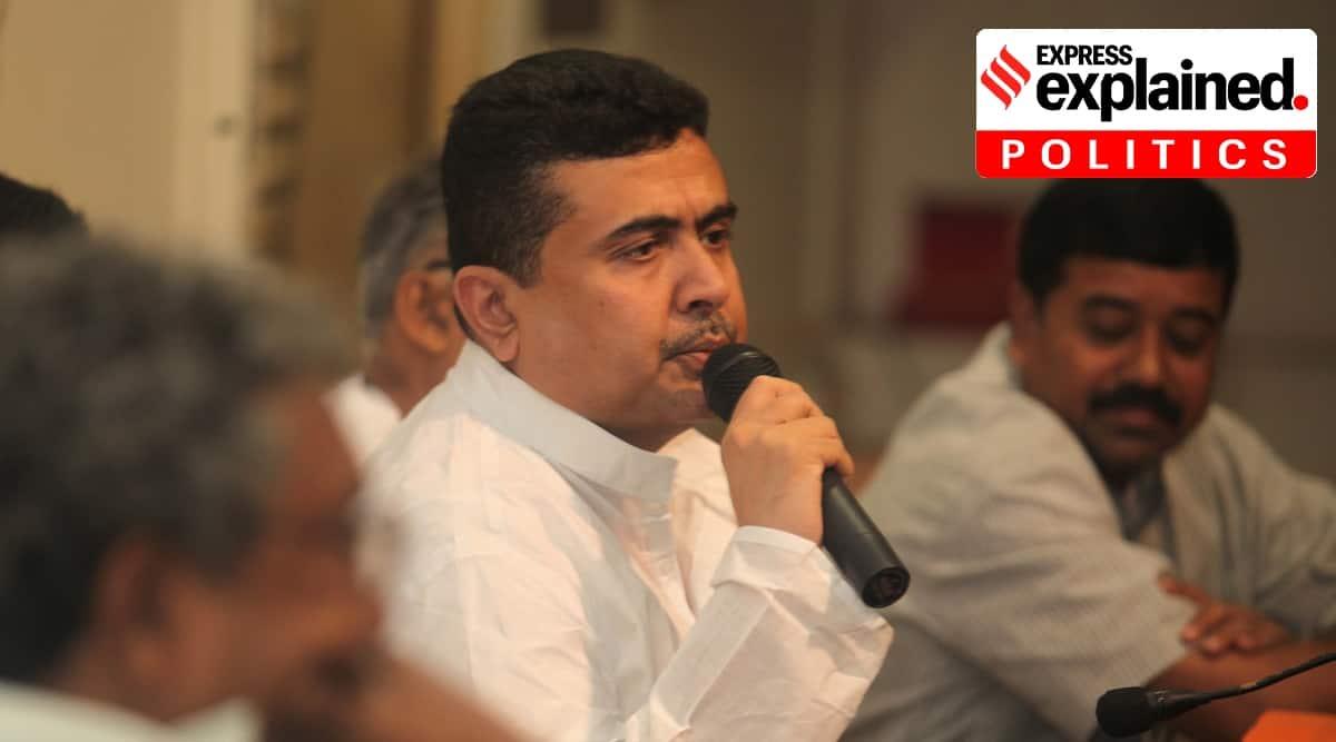 Suvendu Adhikari, who is Suvendu Adhikari, Suvendu Adhikari Trinamool Congress, Bengal politics, West Bengal elections, Indian Express