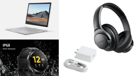 Microsoft Surface Go 3, tech launches today, tech news, latest tech news, Realme Watch S, Xiaomi Mi, 33W charger, Razer True Wireless Earphones, Skullcandy, wireless headphones, realme, realme 7 5g, 5g phone, realme mobile, Gionee, Belkin wireless charger, belkin charger, syska speaker, Timex, timex smartwatch, syska, Soundcore, Soundcore headphones, headphones, Logitech mouse