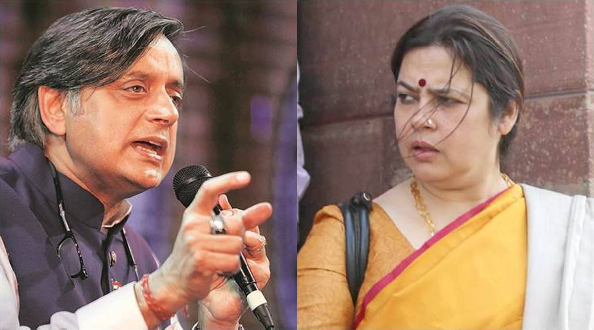 Shashi Tharoor, Meenakshi Lekhi in war of words as House panel questions Twitter - The Indian Express