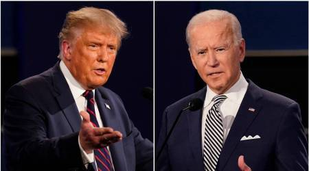 Joe Biden, Donald trump, Republican Party numbers, Us republicans, US House, White House members, world news, indian express