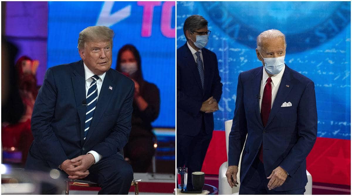 Joe Biden, Georgia Joe biden, Georgia, US elections, Donald Trump, Democrat Joe Biden, Fulton County, world news, Indian Express News