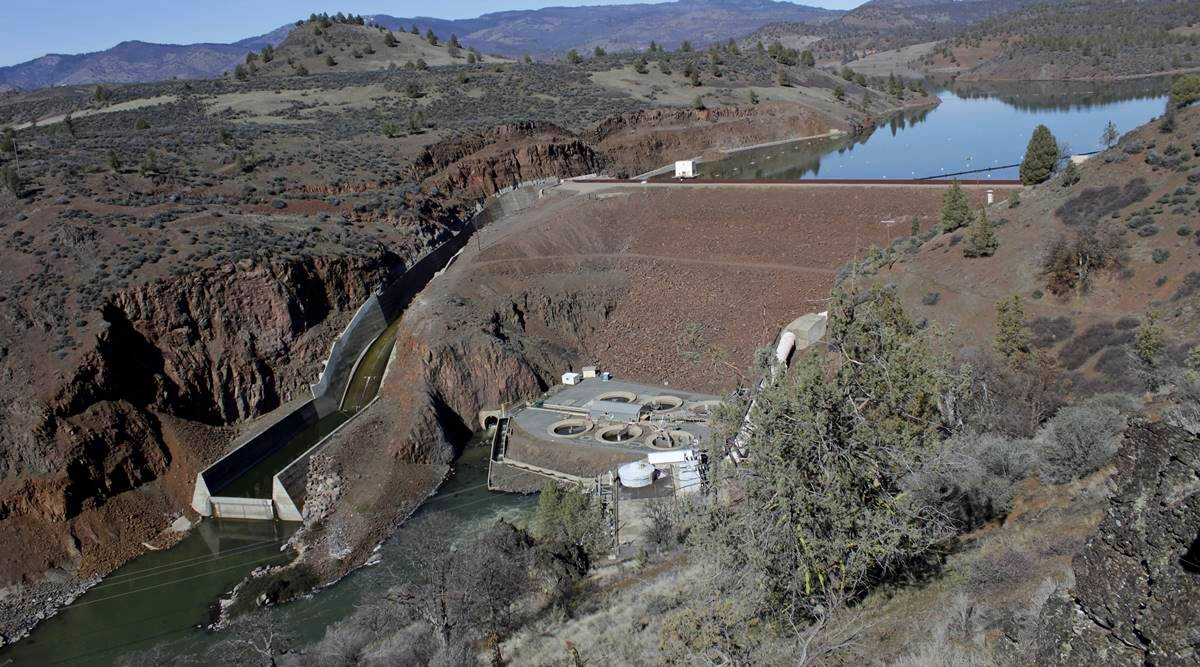 US dam demolition, Klamath River, Oregon-California border, US regulators, world news, Indian express