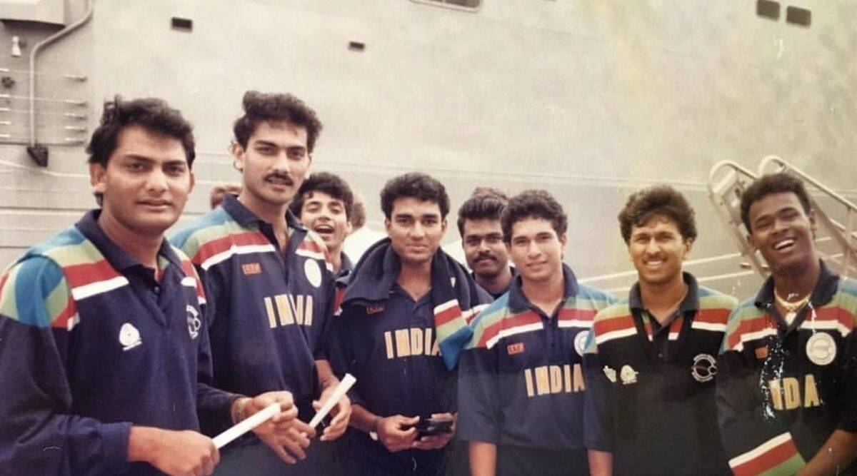 1992 team india jersey