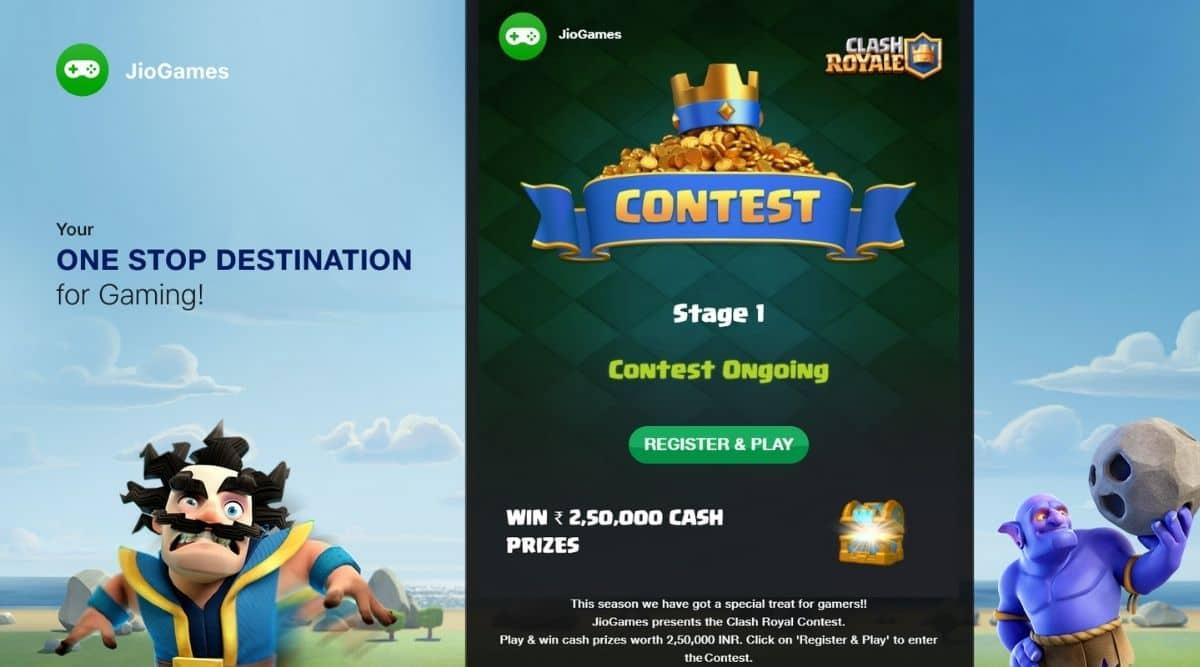 JioGames, Jio, Clash Royale, JioGames Clash Royale tournament, Supercell