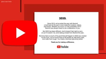 YouTube Rewind, YouTube cancelled rewind video, YouTube Rewind cancelled, YouTube Rewind 2020, Trending news, Indian Express news.