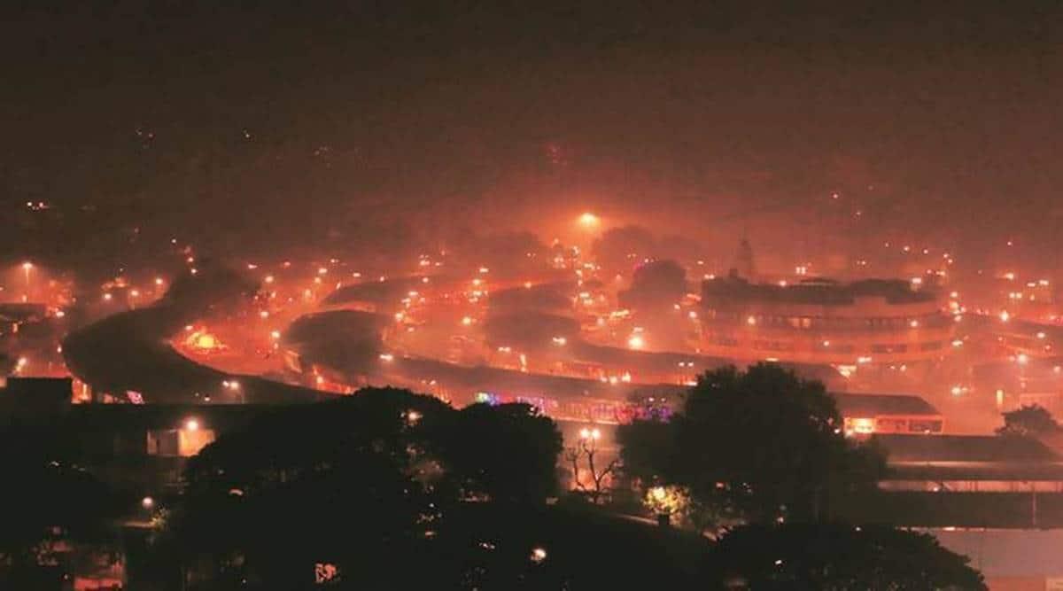 Pune air pollution, Pune air quality after Diwali, Pune Diwali Celebrations, Pune news, Maharashtra news, Indian express news