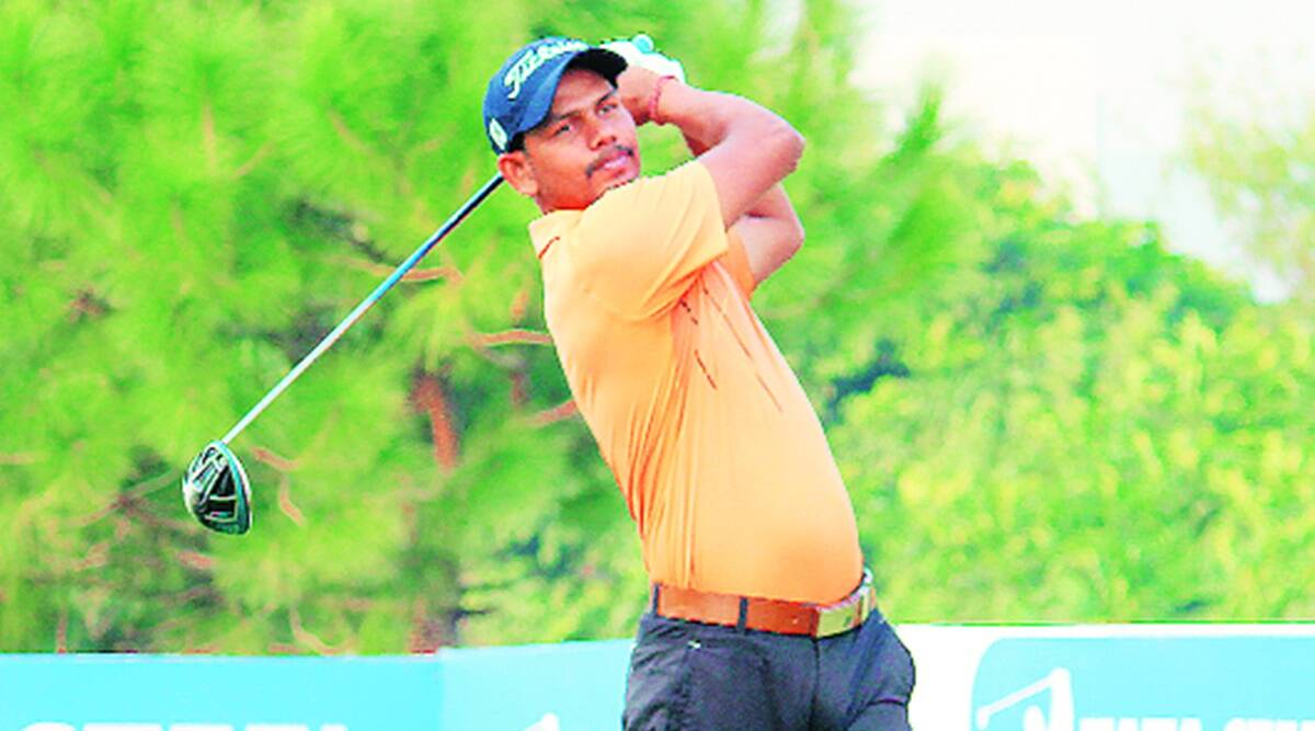 PGTI Players Championship, PGTI Players Championship Panchkula Golf Club, PGTI Players Championship Akshay Sharma, golfer Akshay Sharma, Akshay Sharma golf, Sports news, Indian Express