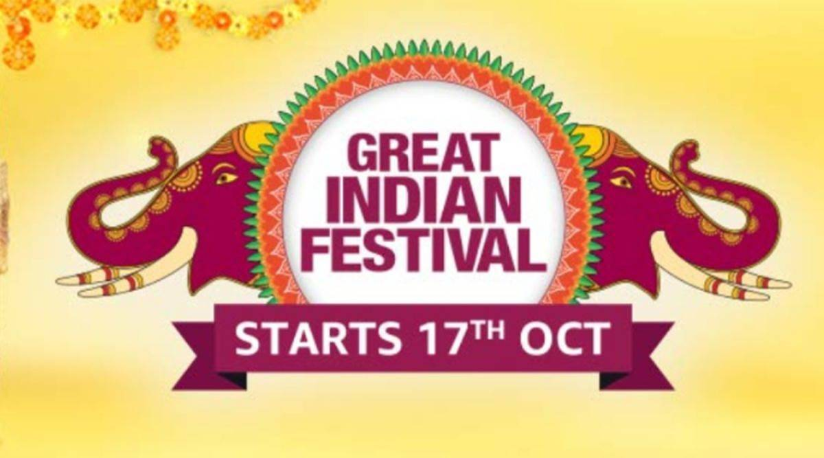 Amazon, Amazon sale, Amazon festive sale, Amazon Great Indian Festival, Amazon Great Indian Festival Diwali offers, indian express news