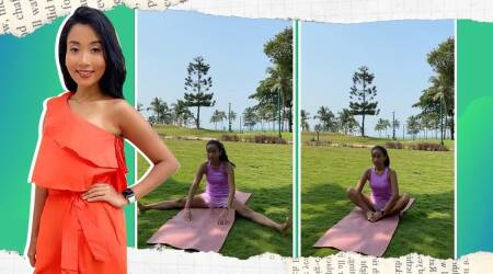 post-run stretching, how to stretch post-run, stretching exercises after running, stretching exercises, post-running exercises, ankita konwar fitness, what to do after a run, running and muscles