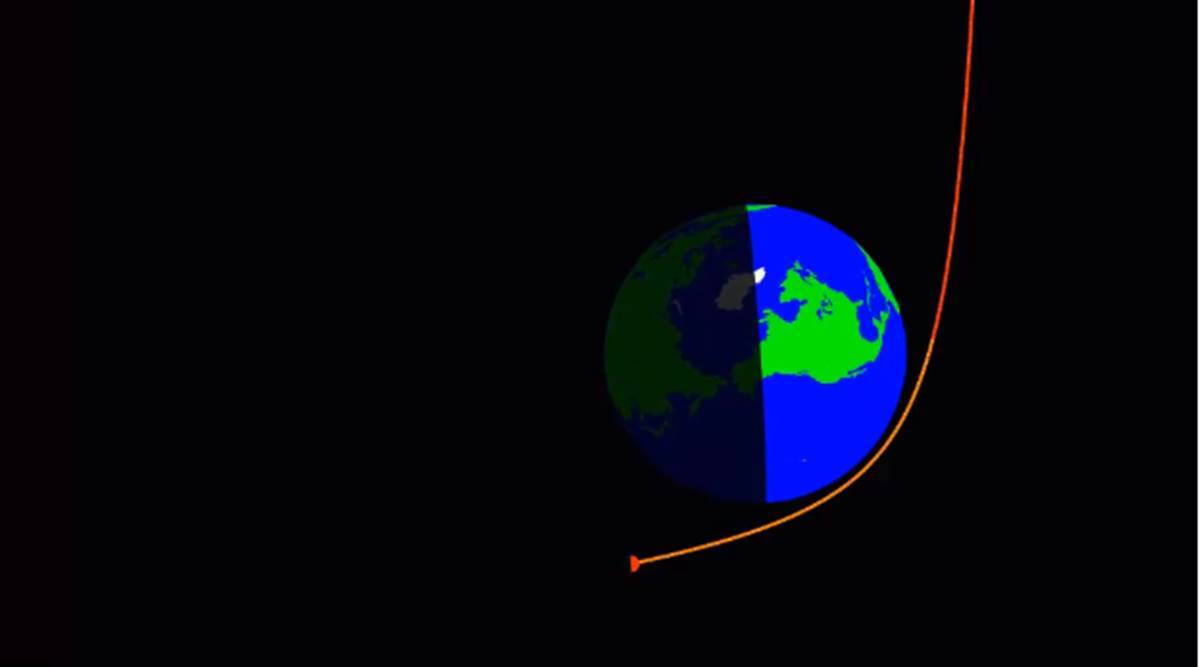 This asteroid just whizzed past Earth's atmosphere thumbnail
