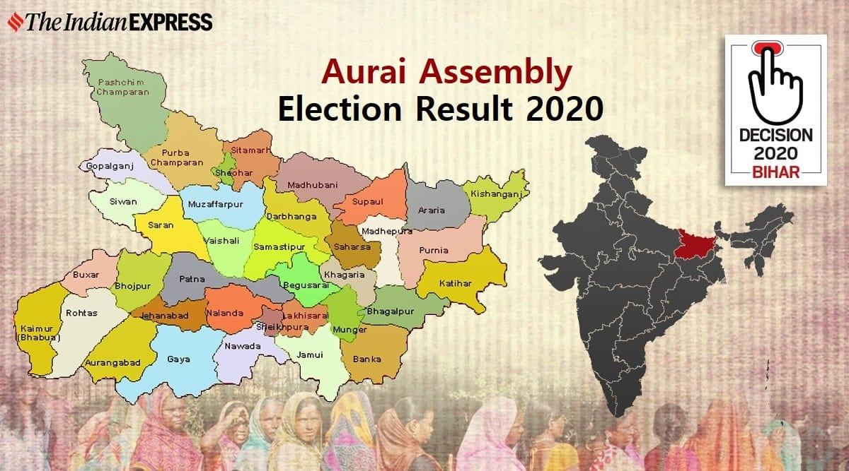 Aurai Election Result, Aurai Election Result 2020, Aurai Vidhan Sabha Chunav Result 2020