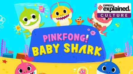 Baby Shark, Baby Shark do doo doo, Baby Shark pinkfong, Baby Shark YouTube views, songs with most views on YouTube, indian express, express explained