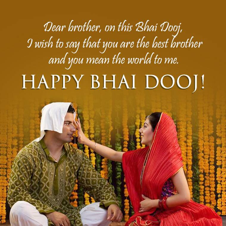 Happy Bhai Dooj 2020 Wishes Images