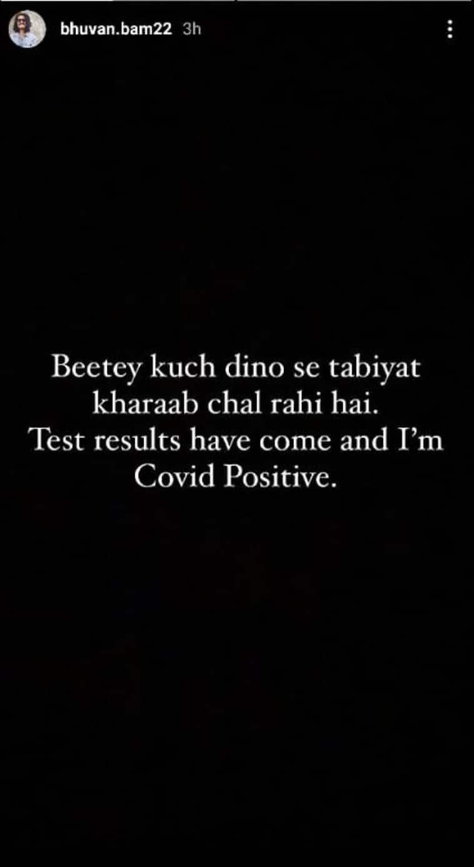 bhuvan bam covid positive, Bhuvan Bam, Bhuvan Bam corona, Bhuvan Bam covid