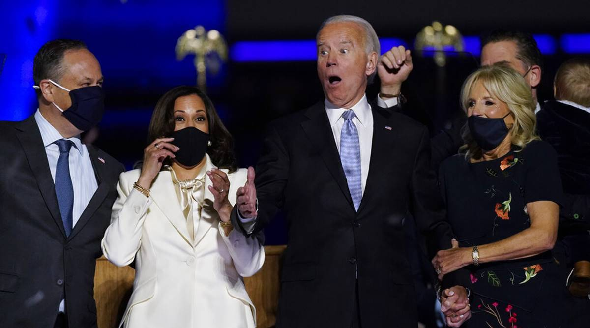 joe biden, joe biden speech, joe biden victory speech, kamala harris, us elections results, donald trump