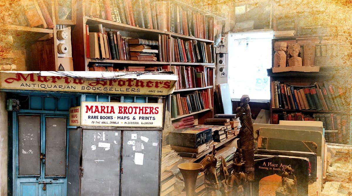 shimla, shimla antiquarian book store, antique bookstore shimla, oldest book store, oldest book stores India, india, lifestyle, indian express, indian express news