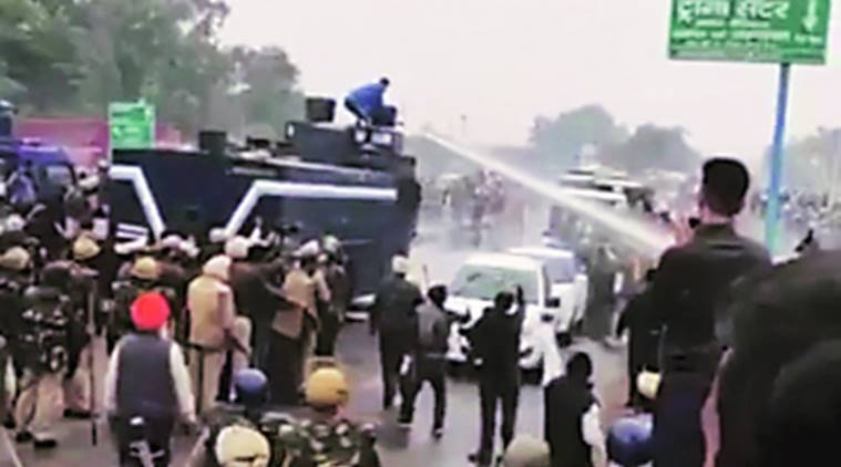Youth who turned off water cannon now booked for attempt to murder