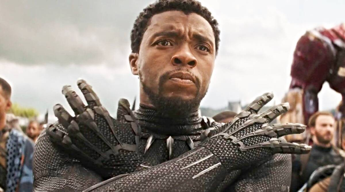 Chadwick Boseman honoured with a new Marvel logo intro for Black Panther   Entertainment News,The Indian Express